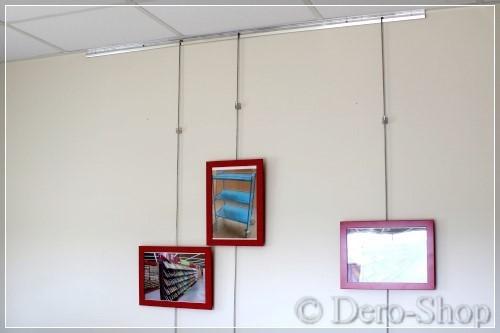 cimaise tableaux murale kit complet. Black Bedroom Furniture Sets. Home Design Ideas